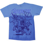 Color Fade - Avengers T-shirt