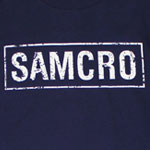 Samcro Cracked - Sons Of Anarchy Long Sleeve T-shirt