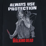 Always Use Protection - Walking Dead T-shirt