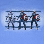 Three Up - Captain America T-shirt