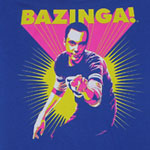 Neon Bazinga - Big Bang Theory Sheer Women&#039;s T-shirt