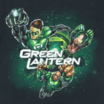 Power Trio - Green Lantern T-shirt