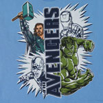 Two By Two - Avengers Juvenile T-shirt