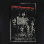 European Tour 1970 - Led Zeppelin T-shirt