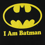 I Am Batman - DC Comics Reversible T-shirt