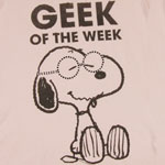Geek Of The Week - Peanuts Sheer Women&#039;s T-shirt