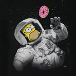 Homer In Space - Simpsons T-shirt