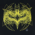 Batman Outline Logo Overlay - DC Comics T-shirt