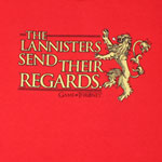 The Lannisters Send Their Regards - Game Of Thrones T-shirt