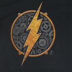 Steampunk Flash Logo - DC Comics T-shirt