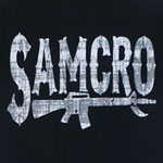 Samcro Rifle - Sons Of Anarchy T-shirt