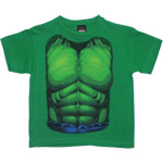 Incredible Hulk Costume - Marvel Comics Juvenile T-shirt