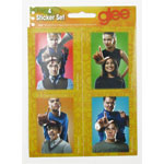 Four Stickers - Glee Sticker Set
