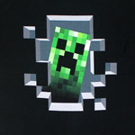 Creeper Inside - Minecraft T-shirt
