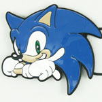 Sonic The Hedgehog Belt Buckle