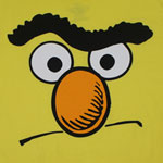 Bert Face - Sesame Street T-shirt
