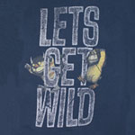 Let's Get Wild - Where The Wild Things Are Sheer Women's T-shirt