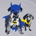 Dynamic Puppy Duo - DC Comics T-shirt
