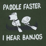 I Hear Banjos - Family Guy T-shirt