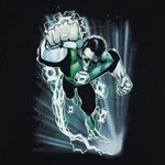 Green Lantern Flying - DC Comics T-shirt