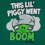 This Lil Piggy Went Boom - Angry Birds Youth T-shirt