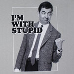 I'm With Stupid - Mr. Bean T-shirt