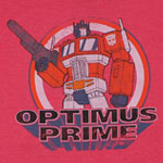 Retro Optimus - Transformers Sheer T-shirt