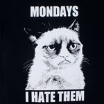 Mondays - Grumpy Cat T-shirt