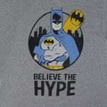 Believe The Hype - DC Comics T-shirt