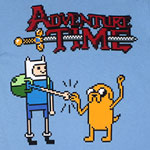 Pixel Heroes - Adventure Time T-shirt