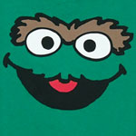 Oscar Face Version 2 - Sesame Street Juvenile T-shirt