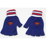 Superman Logo - DC Comics Fingerless Gloves