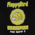 Champion - Flappy Bird T-shirt