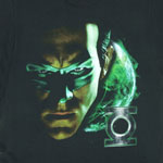 Shadow Portrait - The Green Lantern T-shirt
