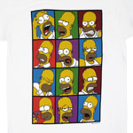 Faces Of Homer - Simpsons T-shirt