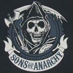 Bold Logo - Sons Of Anarchy T-shirt