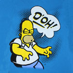 Homer D'oh - Simpsons T-shirt