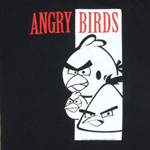 Scarface Poster - Angry Birds T-shirt