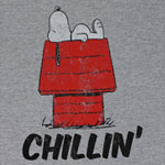 Chillin' - Peanuts Sheer T-shirt