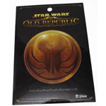 Gold Republic Logo - Star Wars The Old Republic Sticker