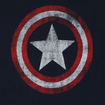 Captain America Logo - Marvel Comics Sheer Women's T-shirt