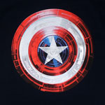 Covered Light - Captain America T-shirt