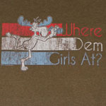 Where Dem Girls At - Rocky And Bullwinkle Sheer T-shirt