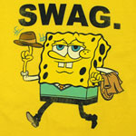Swag. - Spongebob Squarepants Juvy & Youth T-shirt