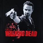 Rick And Pistol - Walking Dead Juniors T-shirt