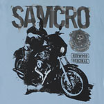 Samcro - Sons Of Anarchy Sheer Women's T-shirt