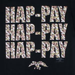 Camouflage Hap-Pay - Duck Dynasty T-shirt