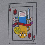 Finn And Jake Playing Card - Adventure Time T-shirt