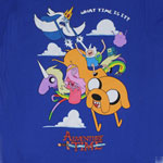 In The Clouds - Adventure Time T-shirt