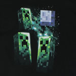 Three Creeper Moon - Minecraft Youth T-shirt